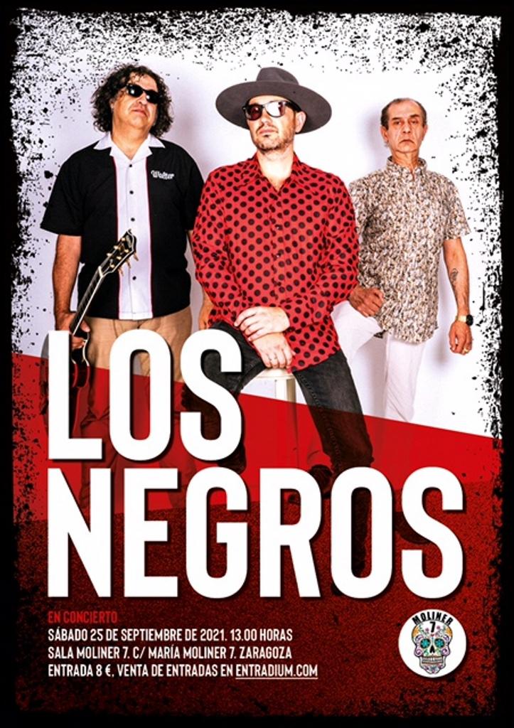Los Negros .Moliner 7 Zazargoza