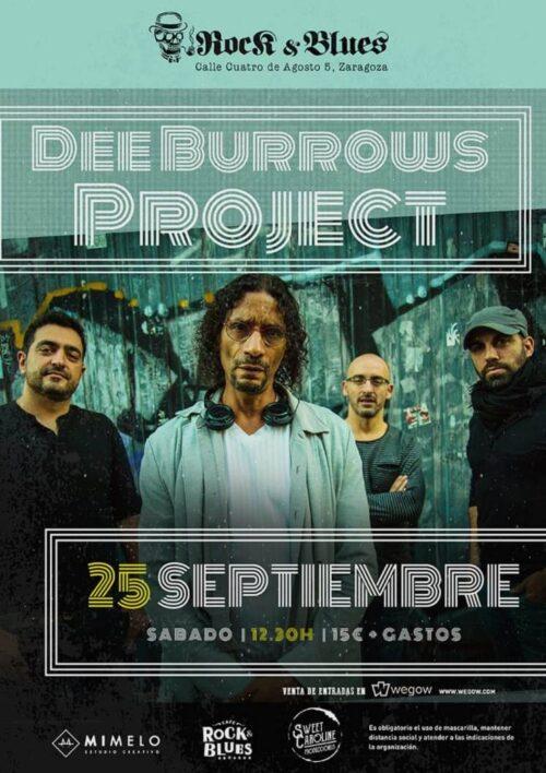 DEE-BURROWS-PROJECT-Rock-And-Blues-Zaragoza