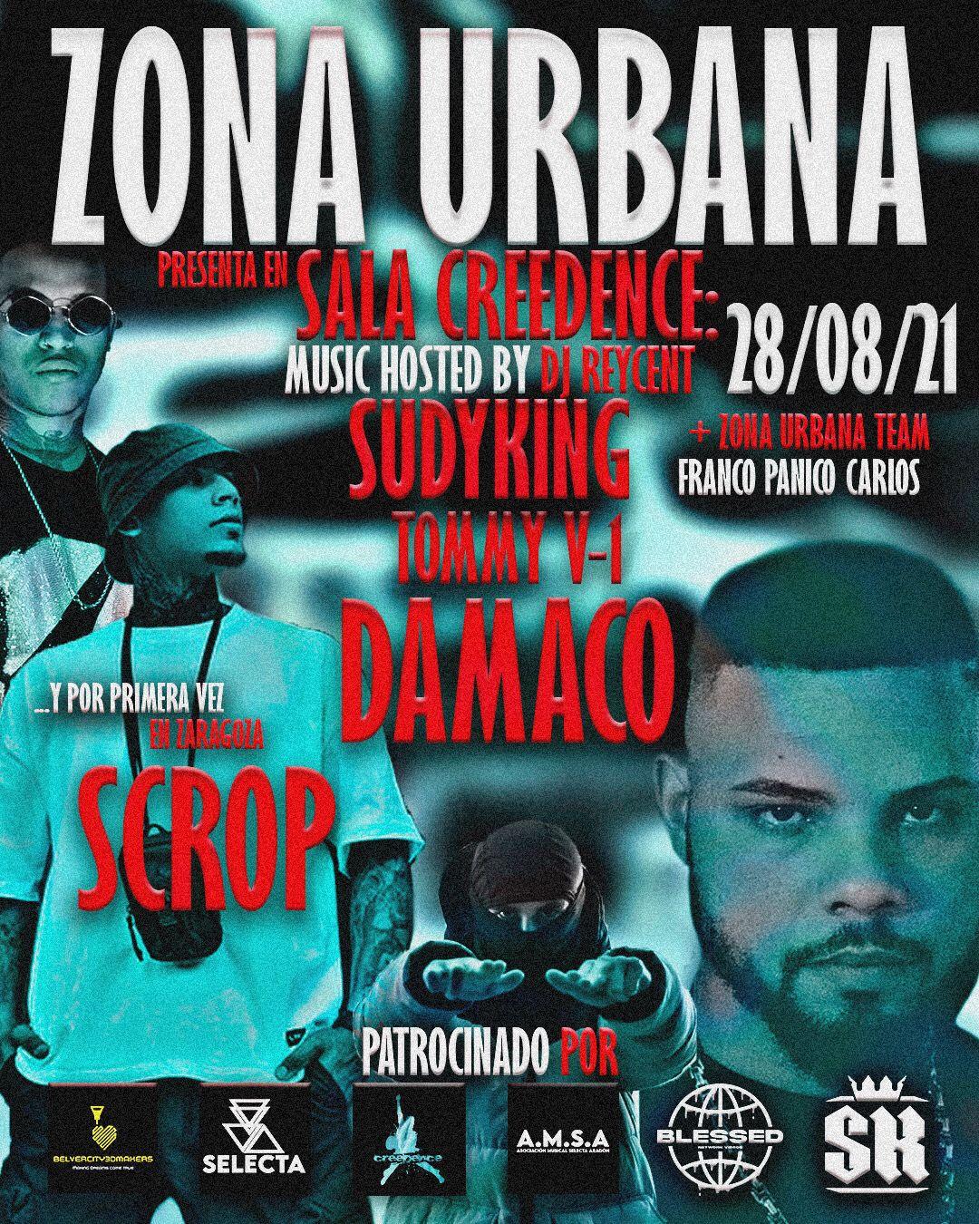 Fest Zona Urbana. Sala Creedence Zaragoza