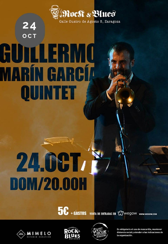 GUILLERMO-M.-GARCIA-QUINTET.-Concierto-Rock-And-Blues-Zaragoza-.-Aragon-En-Vivo-