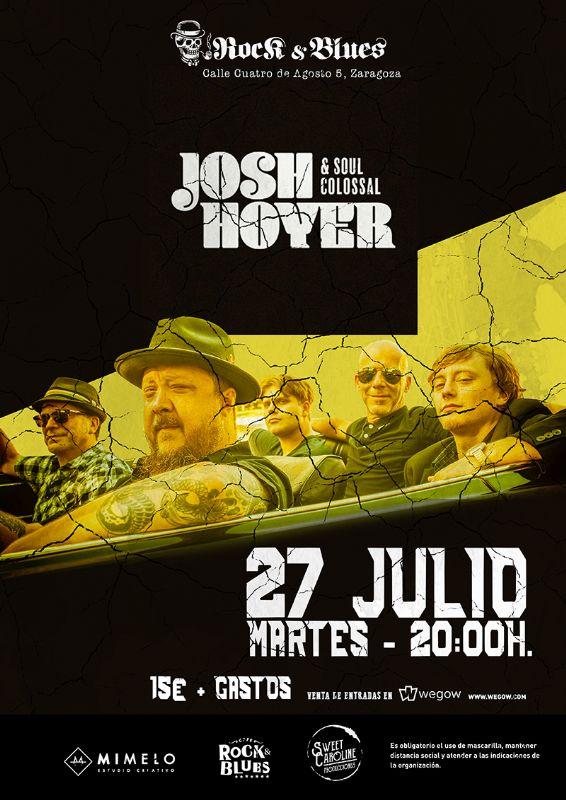 Josh Hoyer & Soul Colossal . Rock and Blues Zaragoza