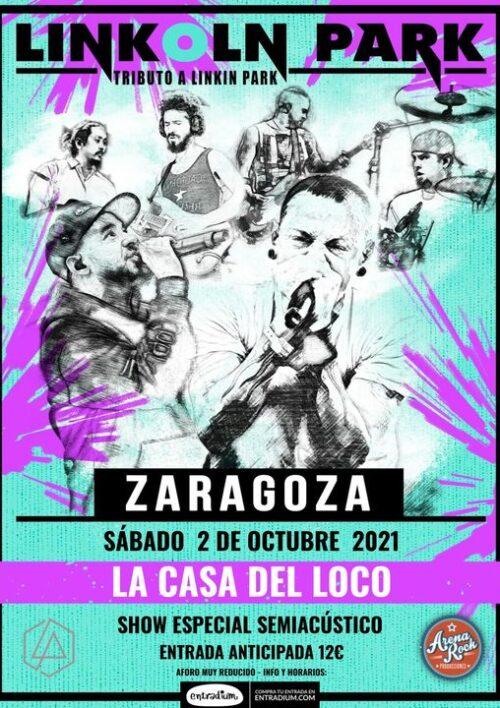 Linkoln-Park-La-Casa-del-Loco-Arena-Rock-Zaragoz