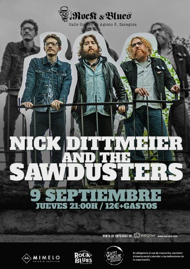 NICK-DITTMEIER-AND-THE-SAWDUSTERS-Rock-and-Blues-Zaragoza