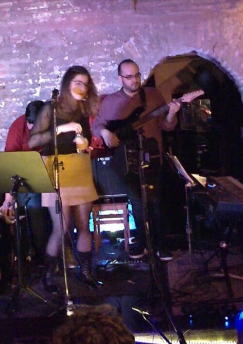 Natalia Liric Jazz La Bóveda del Albergue