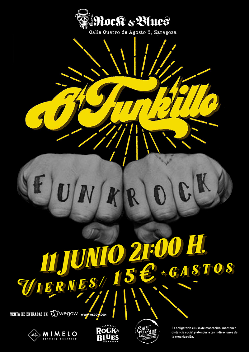 O'Funk'illo 12 Junio Zaragoza