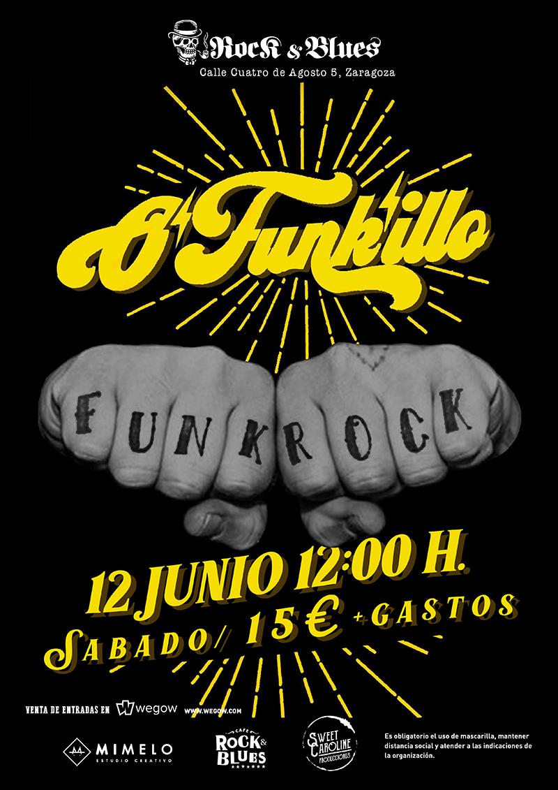 O Funkillo 12 Junio Rock And Blues Zaragoza