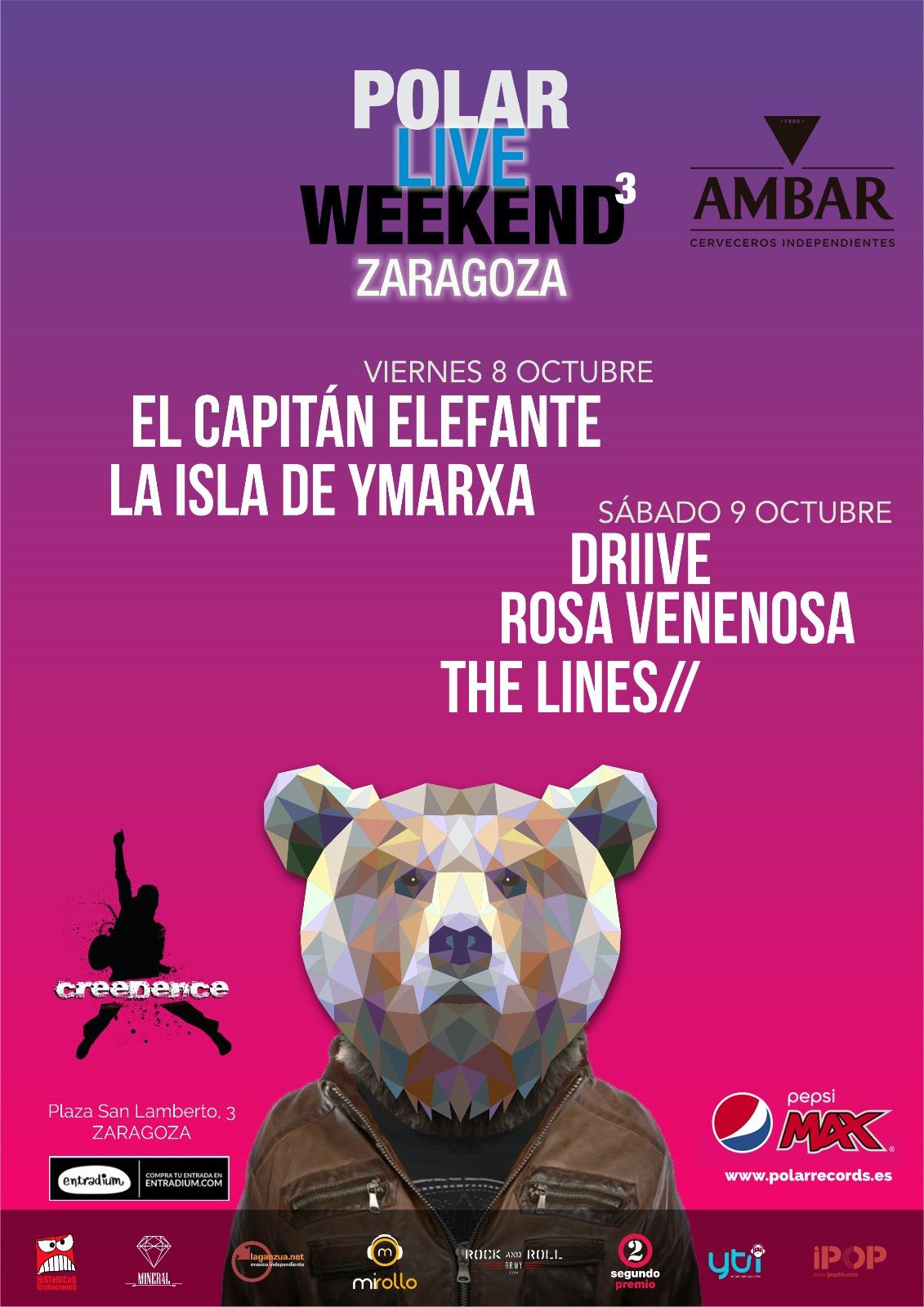 Polar-Live-Weekend.-Sala-Creedence-Zaragoza