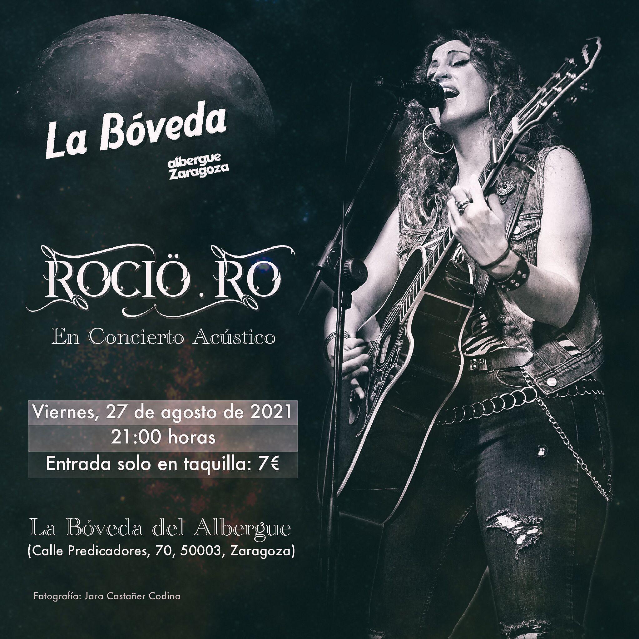 Rocio Ro La Bóveda Del Albergue Zaragoza Aragón En Vivoa