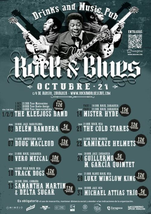 The Cold Stares -Rock-And-Blues-Octubre-2021