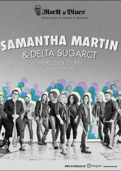 Detalles del adjunto SAMANTHA-MARTIN-DELTA-SUGAR Rock And Blues Aragón En Vivo