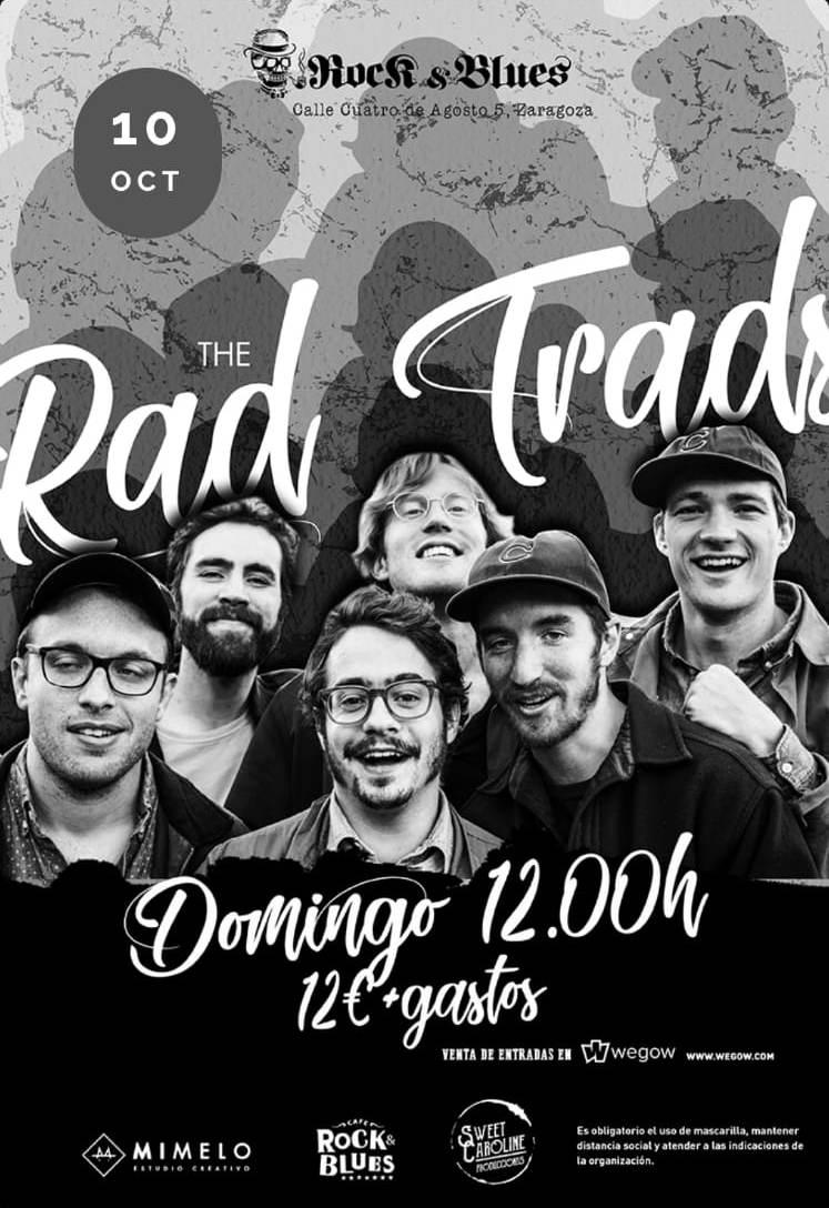 THE-RAD-TRADS-Rock-And-Blues-Aragon-En-Vivo-