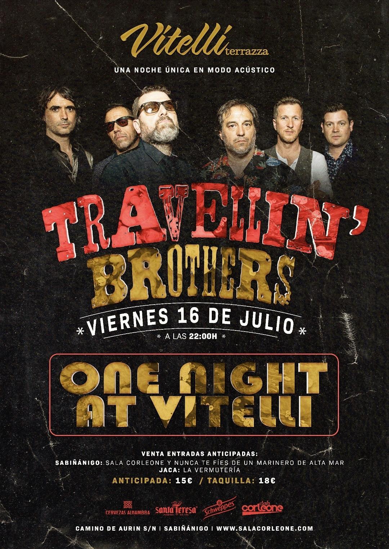 Travellin' Brothers Sala Corleone Sabiñanigo Huesca