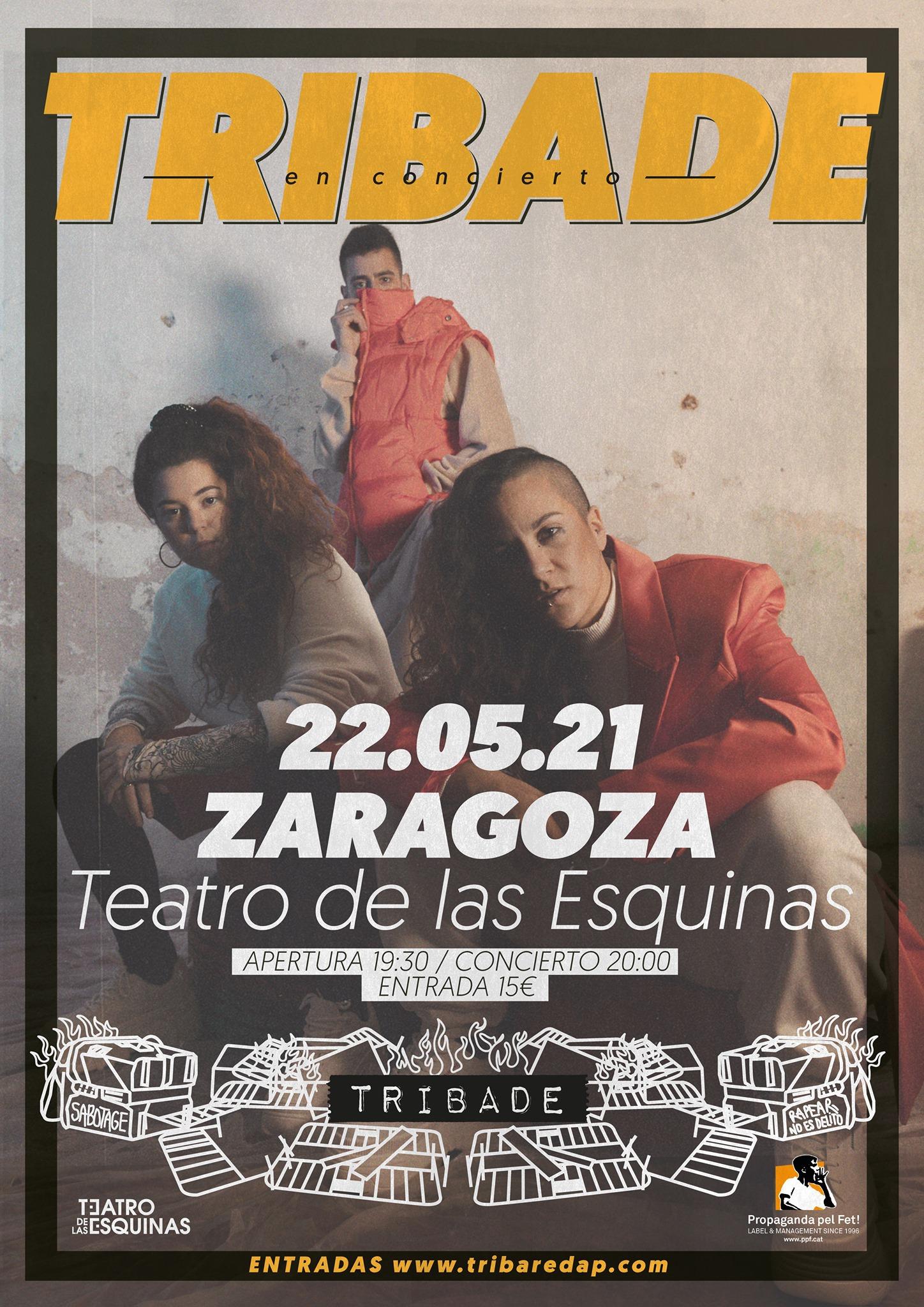 Tribade Zaragoza Teatro de las Esquinas