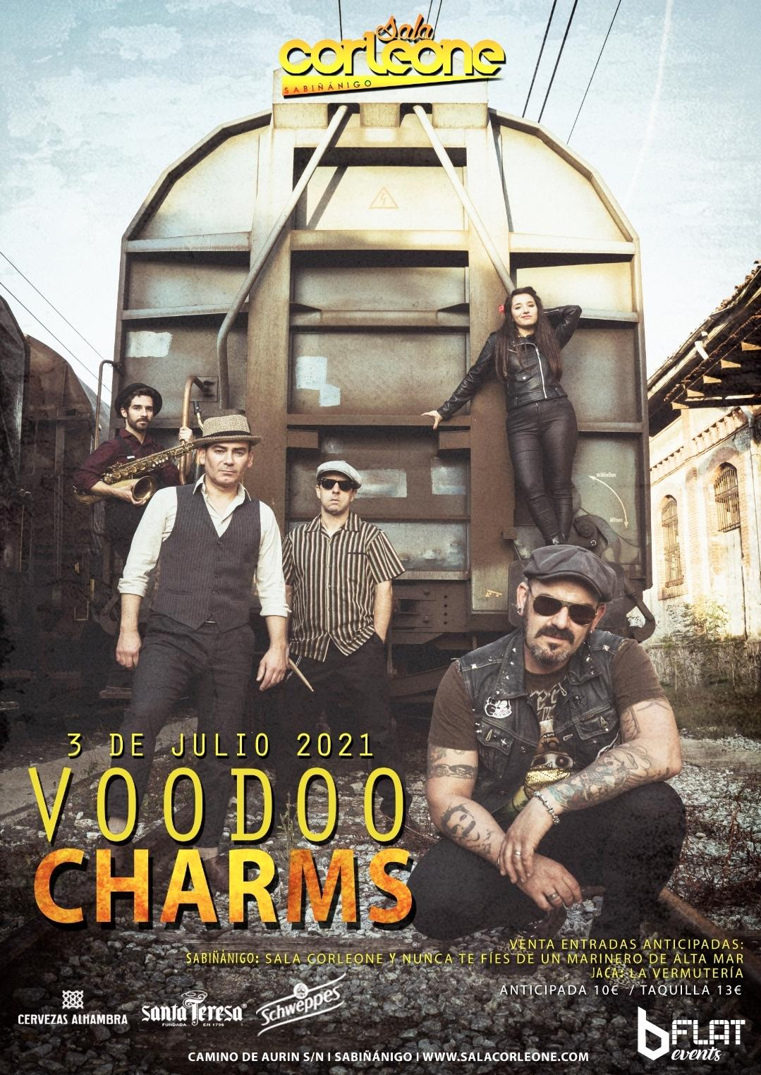 Voodoo Charms Sala Corleone Sabiñanigo Huesca