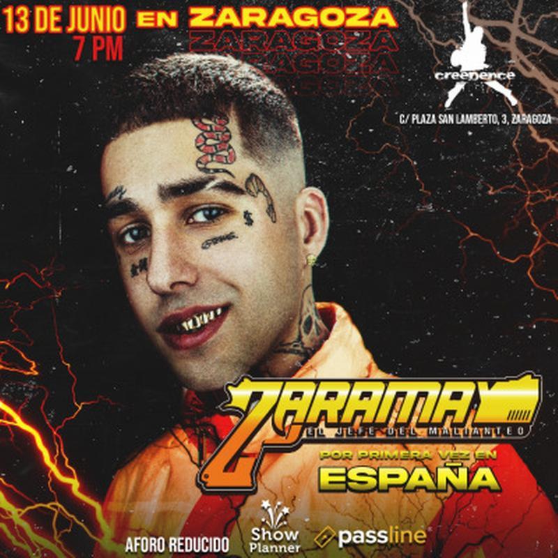 Zaramay Sala Creedence Zaragoza